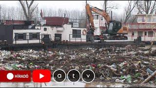 A Tiszán érkező 22 Tonna Hulladék Harmadát Sikerült újrahasznosítani