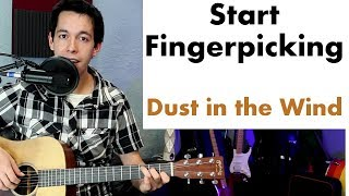 Harness the Power of Dust in the Wind by Kansas (Fingerstyle...
