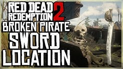 red dead redemption 2 broken pirate sword