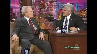 CLINT EASTWOOD - 'LETTERS FROM IWO JIMA' on 'LENO'
