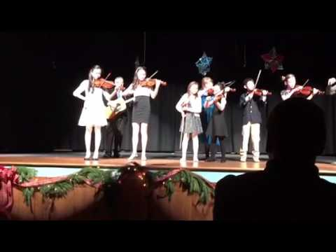 Dutchess Day School Winter Concert String Ensemble