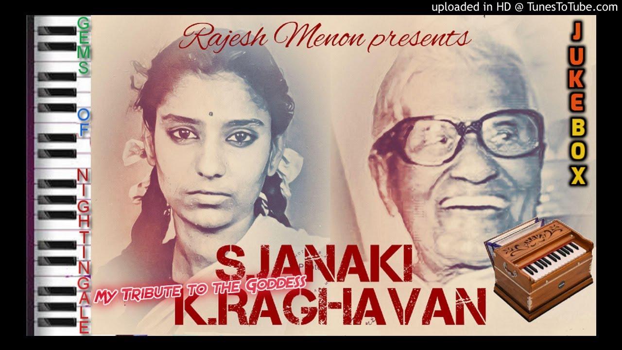 S JANAKI SINGS FOR K RAGHAVAN | JUKEBOX | MALAYALAM | SOLO | HITS