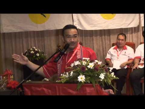 Ucapan Perasmian YB Dato' Seri Hishammuddin Bin Tun Hussien Onn