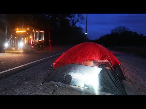 24 HOUR OVERNIGHT Challenge on Clinton Road... we are scarred for life...