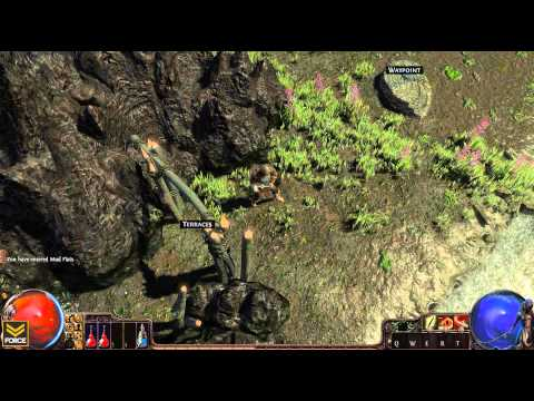 Path of Exile - BETA Let's Play 015: Twilight Strand to Tidal Passage Level 1 - Gameplay