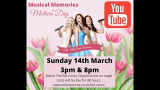 Musical Memories on Mothers Day - Online Concert