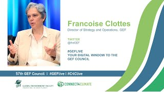Francoise Clottes at GEF Live - Your digital window to the 57th Council