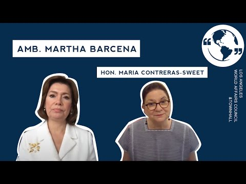 A Fireside Chat with MX Amb. Martha Barcena hosted by Hon. Maria Contreras-Sweet