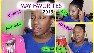 MAY FAVORITES 2015 | Beauty, Tech, Hair & Skin Care ║ResilientnBlessed