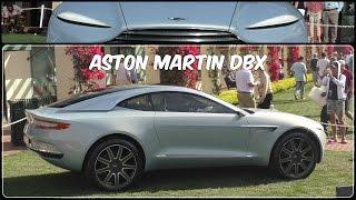 Aston Martin DBX Concept 2015 Videos