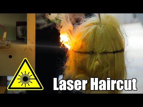 Can a Laser Cut Hair?