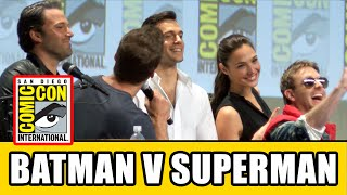 Batman V Superman Comic Con 2014 Panel - Henry Cavill, Ben Affleck & Gal Gadot