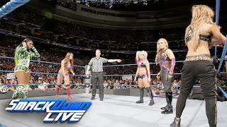 Fatal 5-Way SmackDown Women's Title No. 1 Contenders' Match: SmackDown LIVE, Sept. 13, 2016
