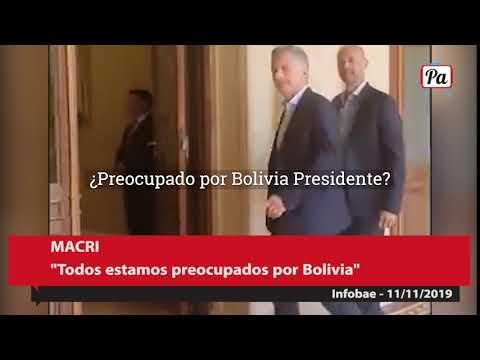 altText(Macri habló de Bolivia pero no de