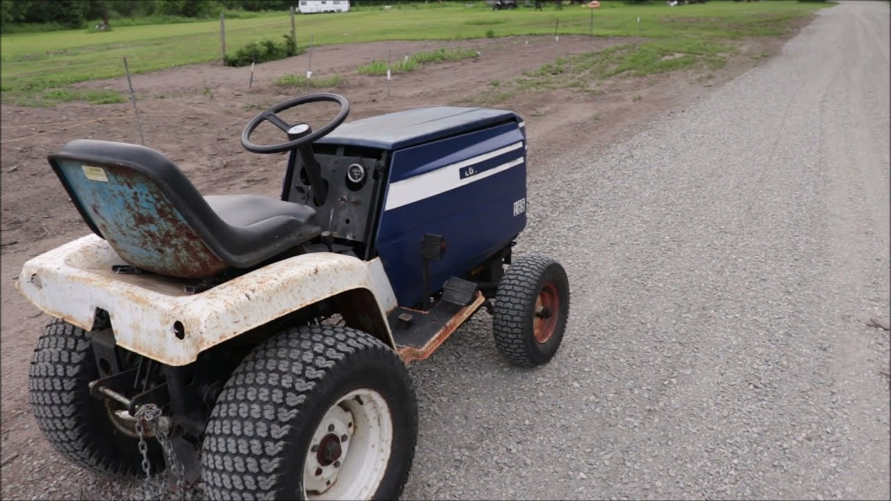 SURPRISE...I Just Added Another One To Our Fleet. Ford L.G.T. 165 Closed Sided Garden Tractor.