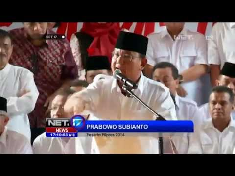 Prabowo Tolak Pelaksanaan Pilpres 2014 -NET17