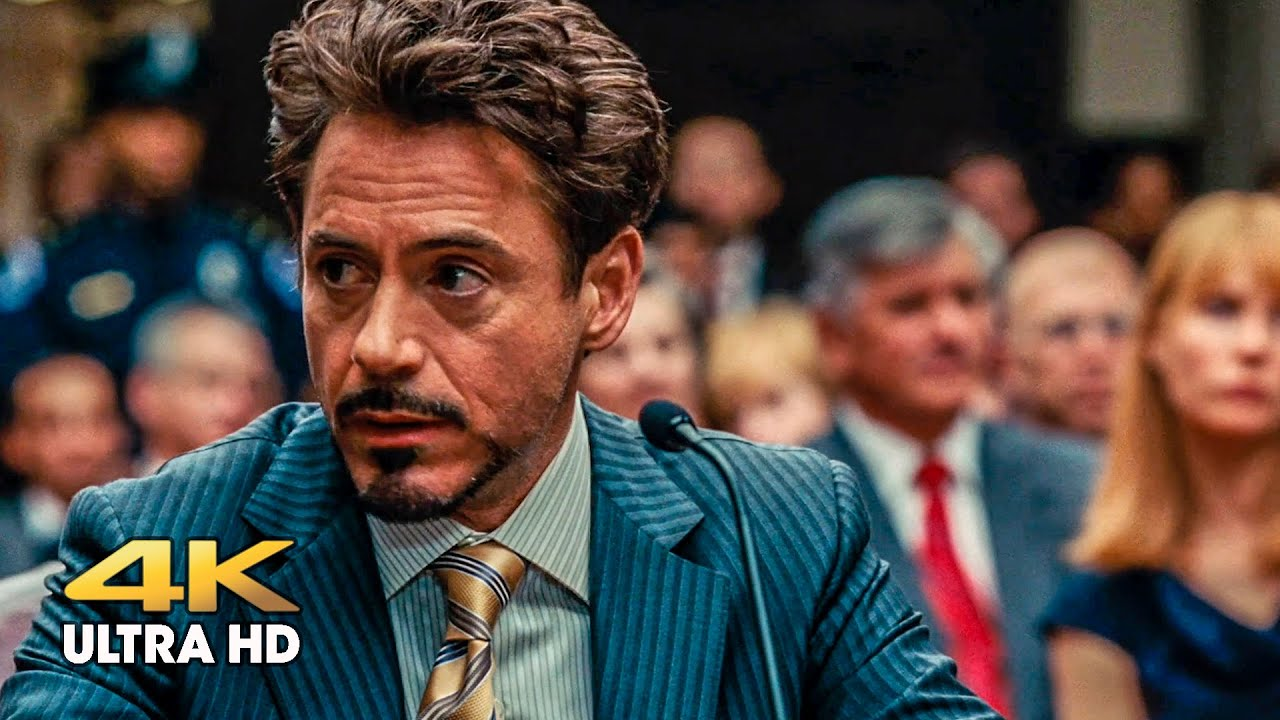 Download Tony Stark at the court hearing. Iron Man 2