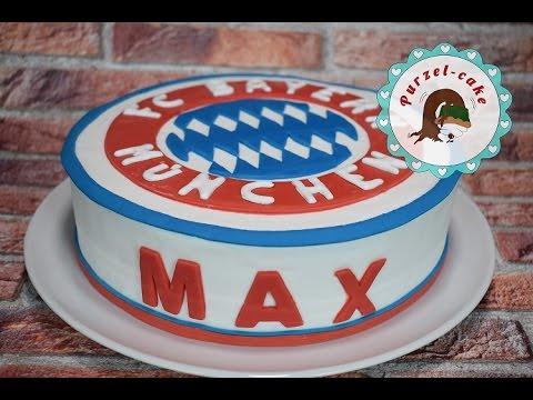 Fc Bayern Munchen Motivtorten Von Purzel Cake Youtube