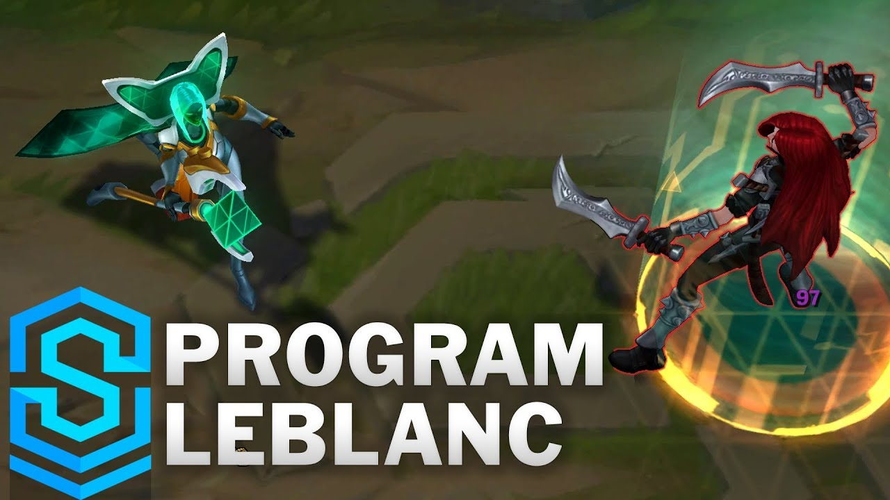 Program LeBlanc Skin Spotlight - League of Legends - YouTube  Program LeBlanc...