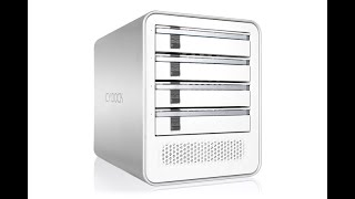 ICY DOCK MB561US-4S Quad Bay External Enclosure with eSATA Port-Multiplier + USB for PC & Mac
