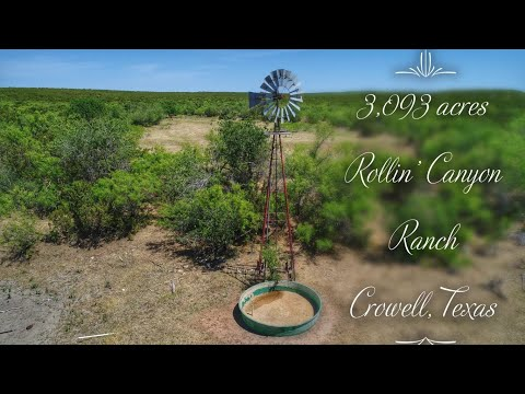 3,093 Acre Hunting And Cattle Ranch For Sale In Foard County ~ $3,900,000