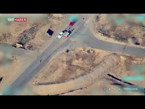Bölücü terör örgütü PKK'nın Sincar'daki yapılanması görüntülendi