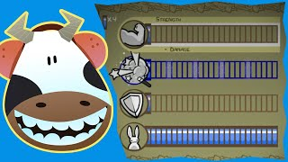 Castle Crashers - Maxed Agility VS All Bosses - Madcowe