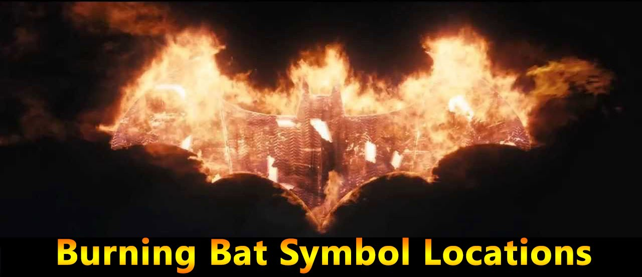 Batman Arkham Knight Burning Bat Symbol Location Part 2