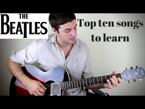 Top 10 Beatles Songs for Acoustic Guitar