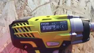 Аккумуляторный шуруповерт Ryobi ONE+ RID1801M 3001168(Отличный инструмент! Рекомендуем! Крутящий момент просто поражает., 2015-11-29T22:16:29.000Z)