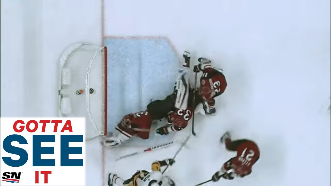 GOTTA SEE IT:  Darcy Kuemper Absolutely Robs Sidney Crosby With Desperate Glove Save