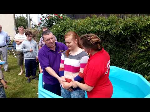 Baptism at The Greenows' Farm pt1