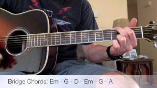 Foo Fighters - Congregation Acoustic Guitar Lesson
