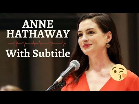 anne-hathaway---paid-family-leave-(english-subtitles)-|-english-conversation-with-subtitle