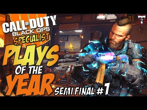 Call of Duty Black Ops 4 PLAYS of the YEAR - Specialist Semi Final #1 thumbnail