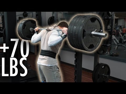 How I Increased My Squat By 70 LBS IN 4 WEEKS425 to 495 lb squat