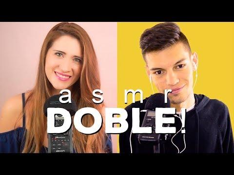 """ASMR Entrevista doble con """"ASMR With Sasha"""" - (Mol)"""