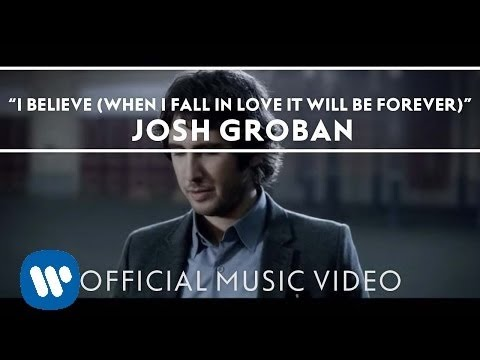 I Believe When I Fall In Love It Will Be Forever Official Music Video