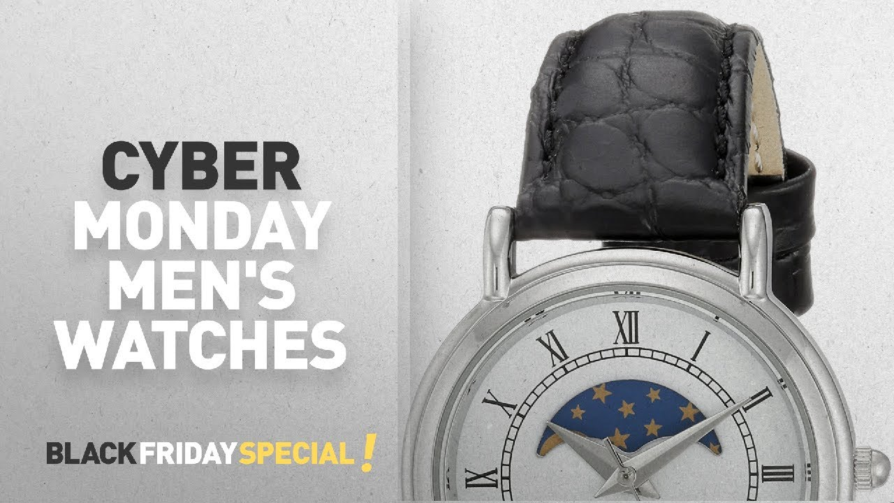 Cyber Monday Richelieu Watches   Richelieu Swiss Quartz Brass and Leather  Dress Watch, Color Black 333896b421f8