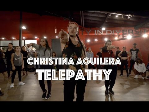 Christina Aguilera - Telepathy   Hamilton Evans Choreography