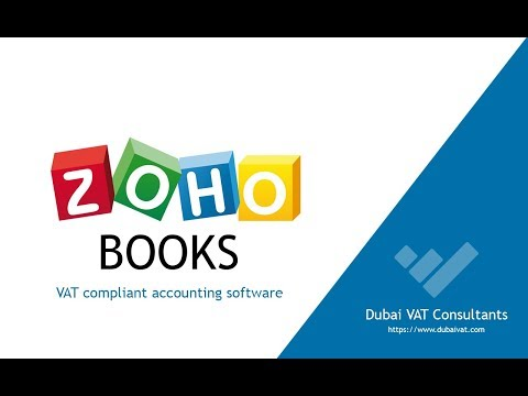 Zoho Books UAE VAT Accounting Software