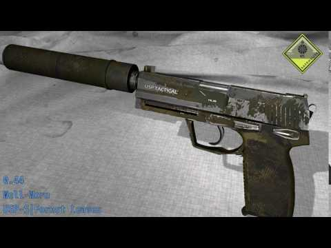 USP - S Forest Leaves - Skin Wear Preview
