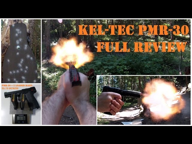 Kel-Tec PMR-30 Full Review: 30-round Magnum Powerhouse Lightweight Pistol! B.O.B. approved.
