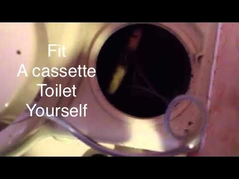 How To Replace A Caravan Toilet Water Pump Youtube