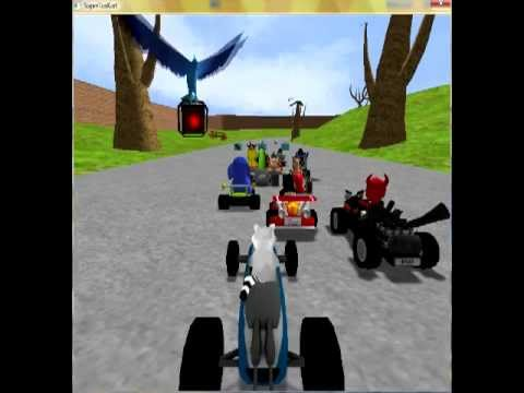 SUPERTUXKART - PEACEFUL PARK (New Track)