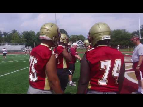 Coe College Football Practice - August 10, 2017