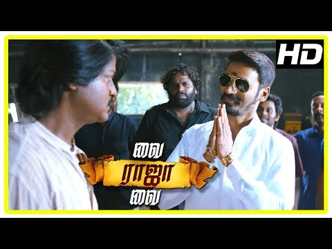 Vai Raja Vai Movie Climax | Dhanush entry saving Gautham from Daniel | End Credits