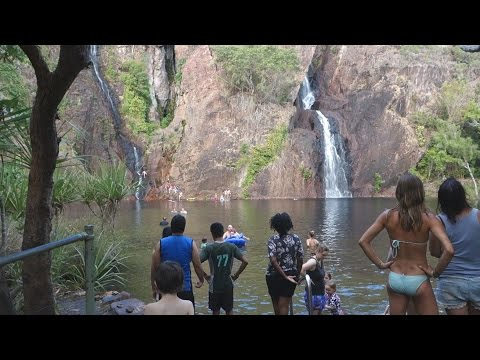 A LOST CITY AND WATERFALLS IN LITCHFIELD NATIONAL PARK