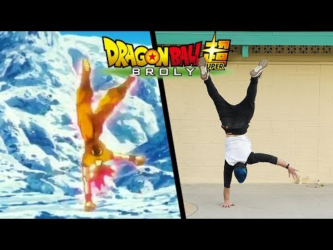 Stunts From Dragon Ball Super: Broly In Real Life (Parkour)