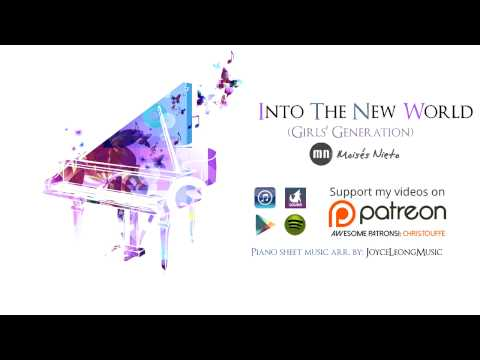 🎵 Into The New World (Ballad Ver.) [Girls' Generation] ~ Piano & Vocal cover by Moisés Nieto